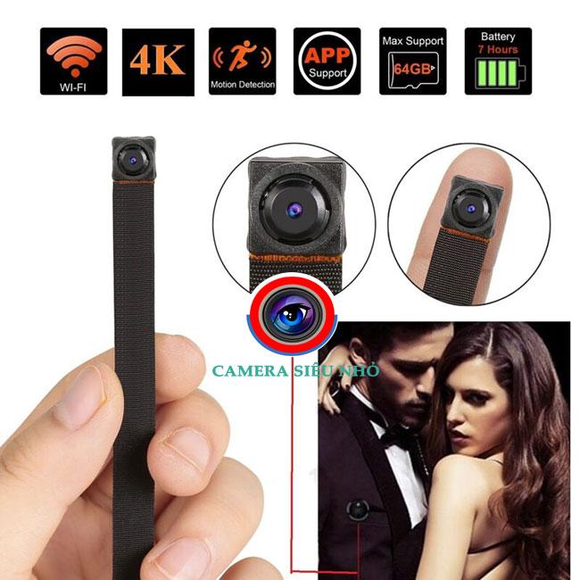 Camera siêu nhỏ NV99 X IP WiFi New Server New App ghi hình rõ nét