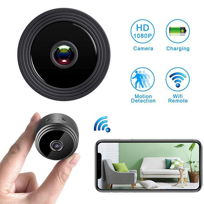 Camera siêu nhỏ SQ18 kiểu dáng nhỏ gọn quay video chất lượng cao