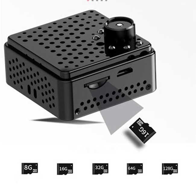 Camera quay lén GSD20 kết nối điện thoại tốt nhất
