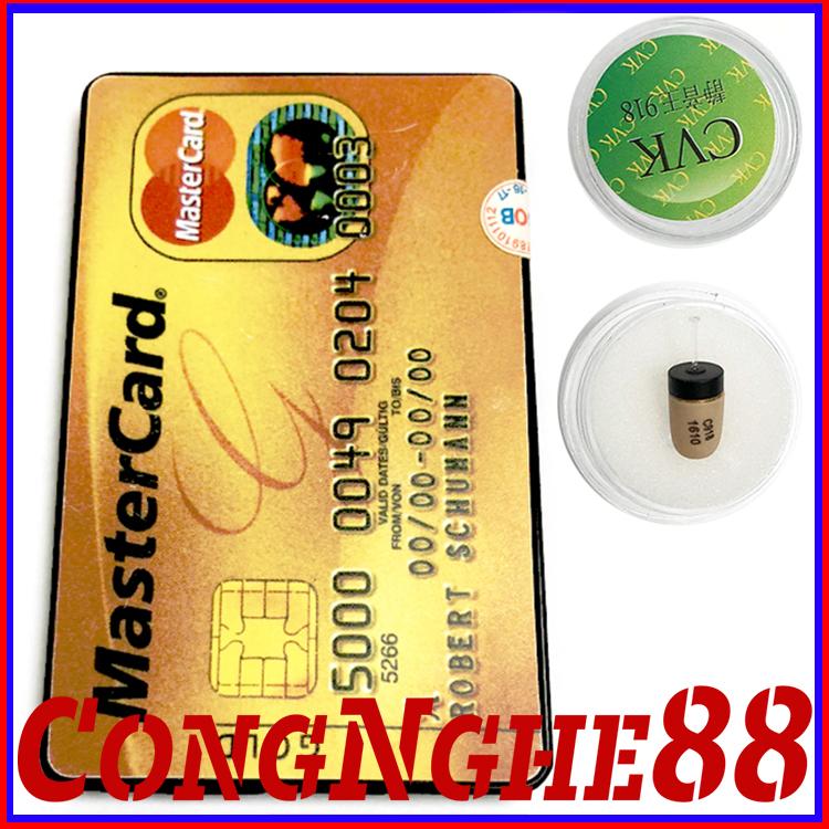 Tai nghe siêu nhỏ dạng thẻ ATM