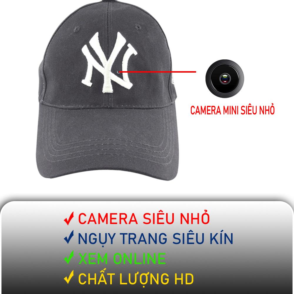 Camera ngụy trang mũ